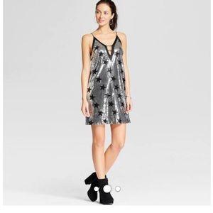 XOXO Star Sequin Dress